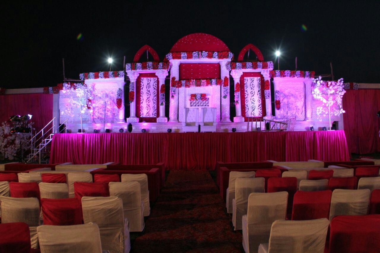 Day wedding stage decoration  Stage for marriage  Indian wedding indian party decoration