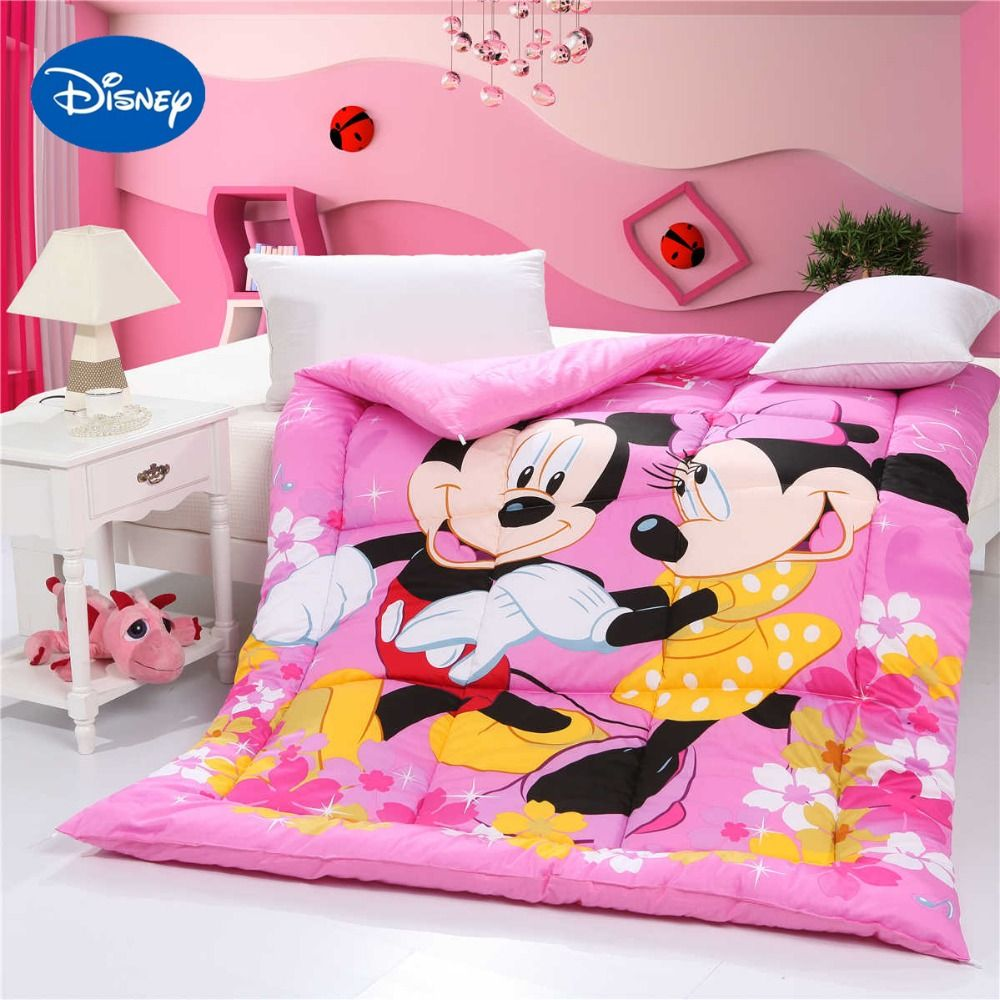 Mickey and Minnie Mouse Quilted Comforters Single Twin ...