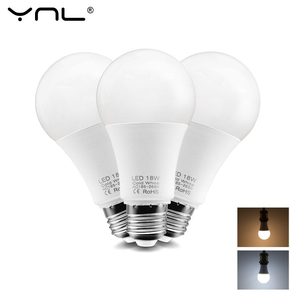 Led Bulb E27 Led Lamp Ac 220v 240v 3w 6w 9w 12w 15w 18w Smd2835 Ampoule Lampada Led Light Bulb Bombilla Spotlight Led Table In 2020 Light Bulb Led Bulb