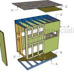 4x8 Deer Stand Plans