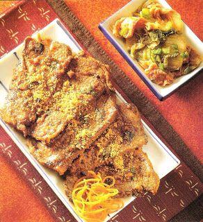 El Rincón de Gabriella Yu: Cocina Coreana: Buey a la Barbacoa