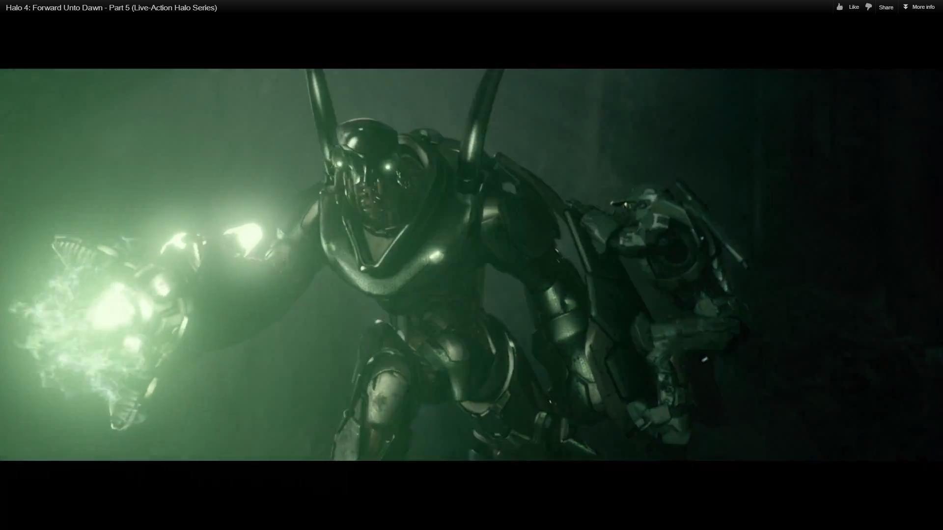 Master Chief Vs The Hunter In Halo Forward Unto Dawn Halo