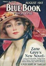 Magazine Cover Art from Blue Book | Vintage Magazines  Aug 1917
