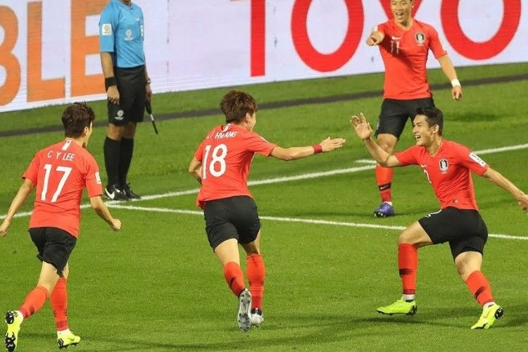 South Korea Got Their 2019 Asian Cup Campaign Off To A Winning Afc Asian Cup Afc Asian Cup Korea South Korea