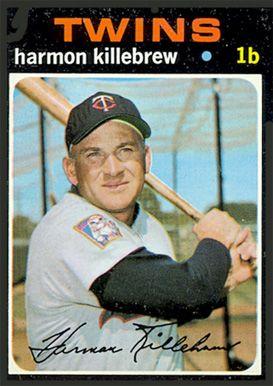 1971 Topps Harmon Killebrew 550 Baseball Card Value Price Guide Baseball Cards Baseball Card Values Minnesota Twins Baseball