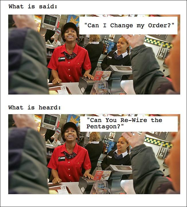 Fast Food Employee Problems Funny Pinterest Funny Funny Jokes