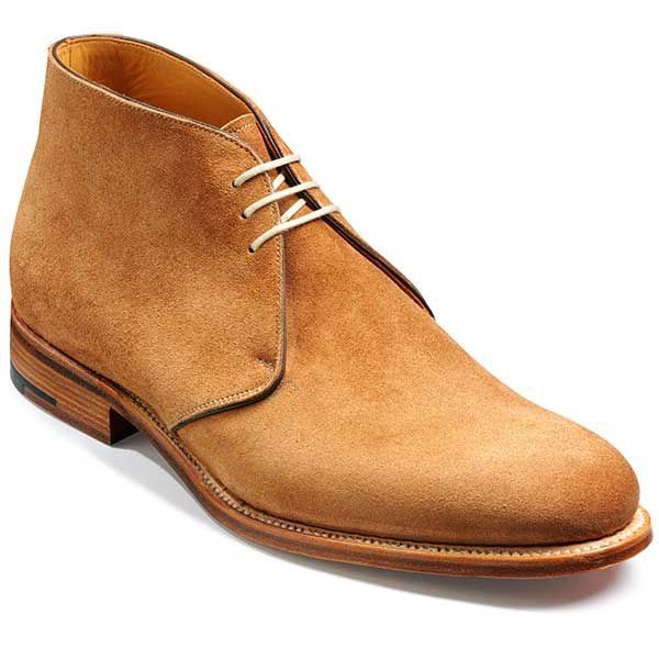 Barker Shoes – Devonshire Chukka Boot – Snuff Suede