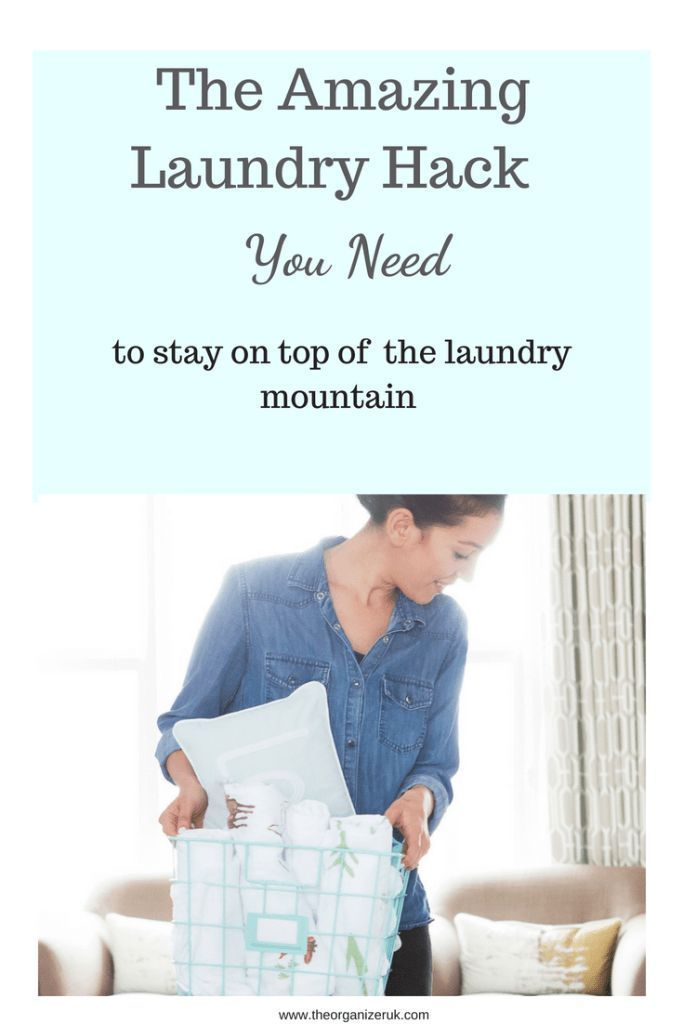 How To Catch Up When You Are Overwhelmed By Laundry (With ...