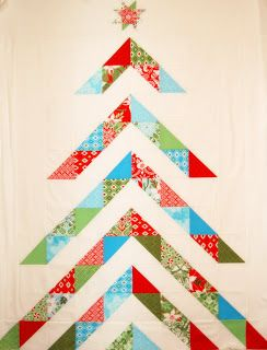 Quilt Inspiration Free Pattern Day Christmas Part 1 Christmas Tree Quilt Tree Quilt Pattern Tree Quilt