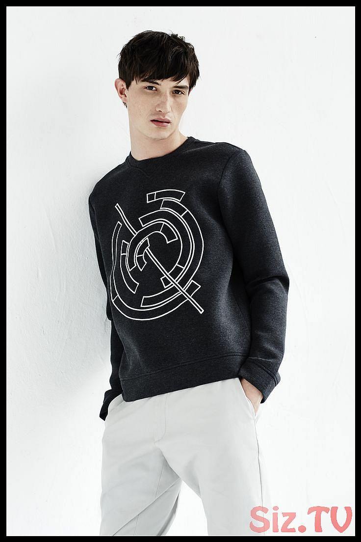 LOOK BOOK MAN SPRING 2017 ENLIST Gyroscope Sweatshirt Bonded Jersey Embroidered Sweatshirt menswear mensfashion fashion ss17 spring springsLOOK BOOK MAN SPRING 2017 ENLIS...