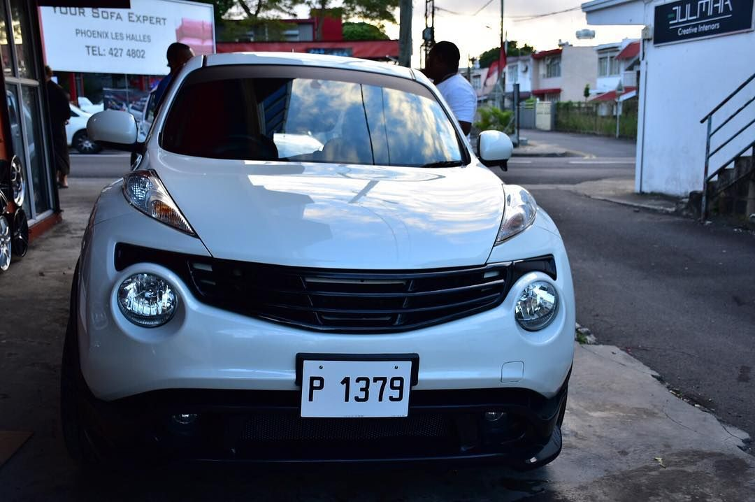 Nissan Juke fitted with kenstyle grill and Bodykit Nissan Juke