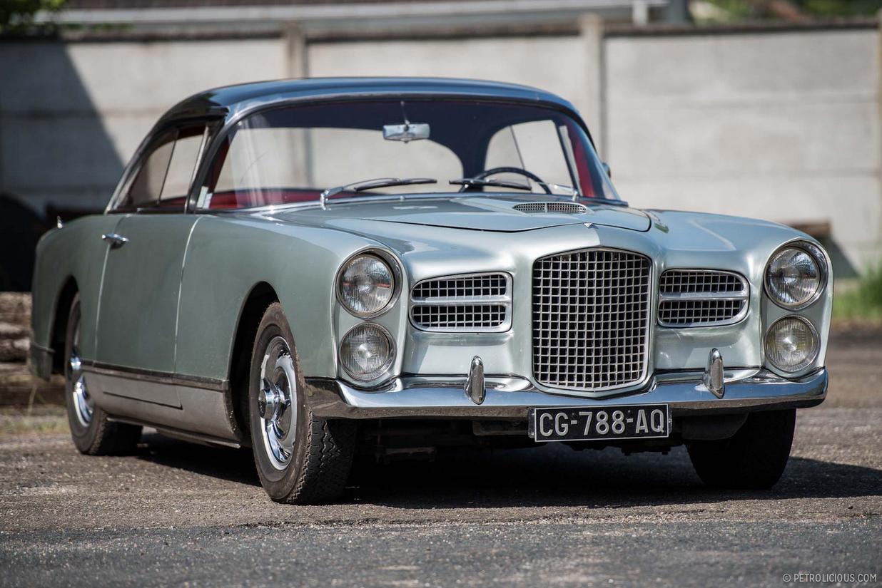 FAB WHEELS DIGEST (F.W.D.): Facel Vega HK500 Coupe (1959-62)