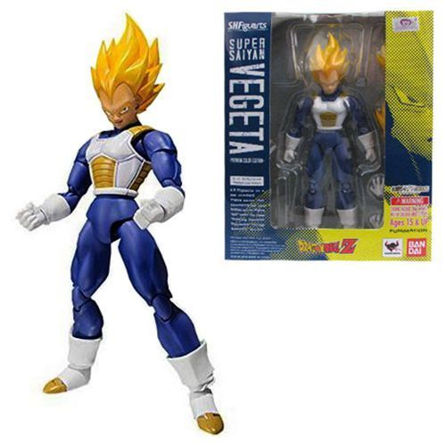 Figuarts Super Saiyan Vegeta Premium Color Edition IN STOCK USA S.H