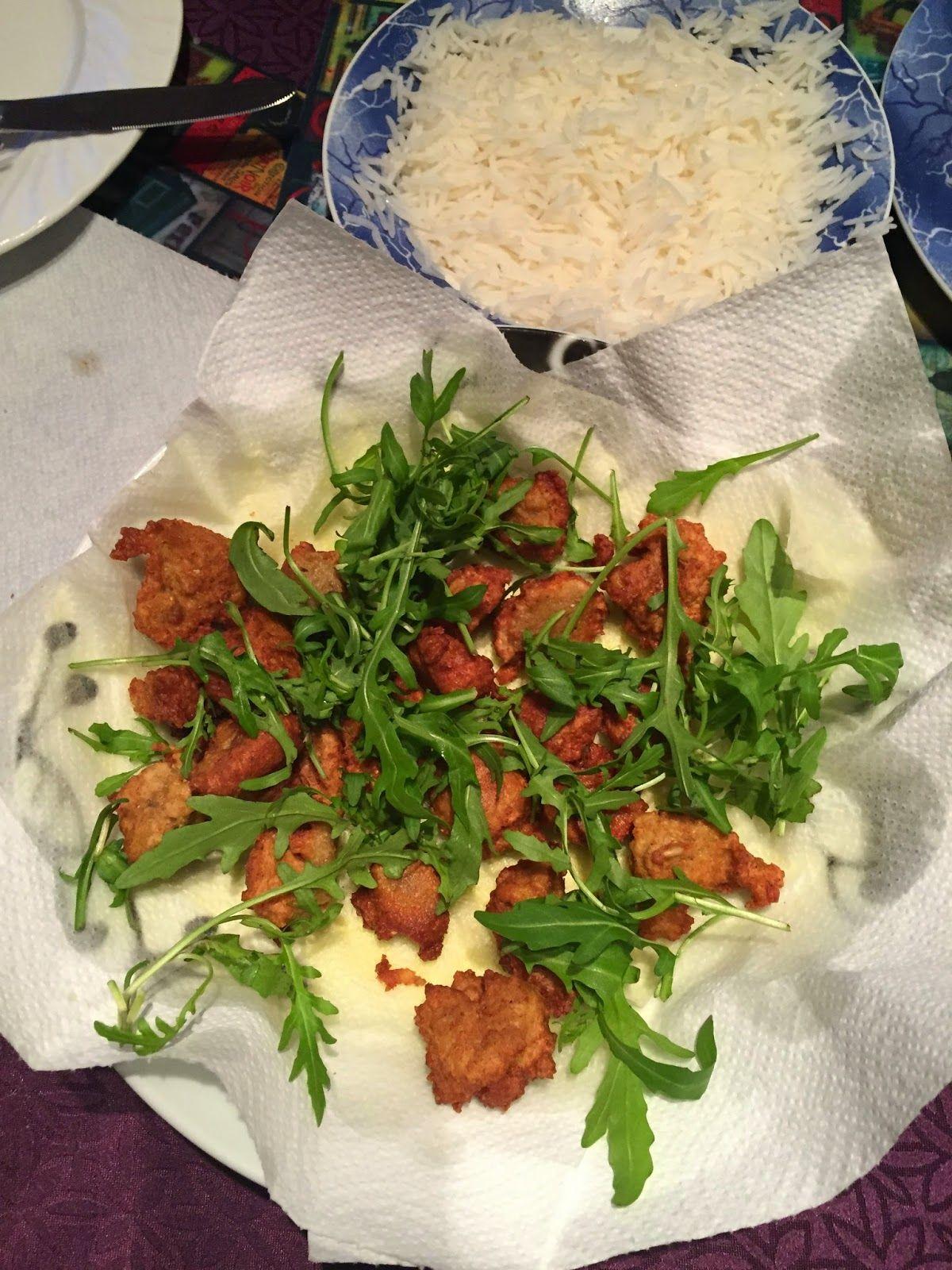 ANITAS MATBLOGG: Friterte grønnsaksboller i tomatsaus