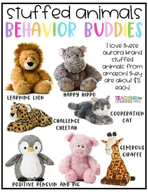Behavior Buddies: Using Stuffed Animals as a Positive Classroom Management Tool