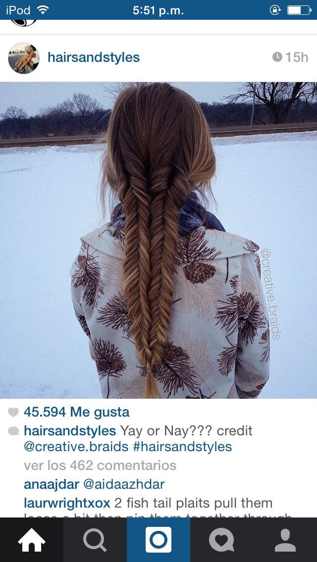 Peinado invierno