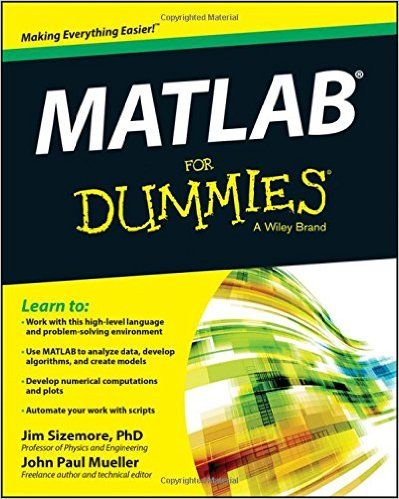 Matlab For Dummies 2nd Edition Math Courses Math Problem Solving