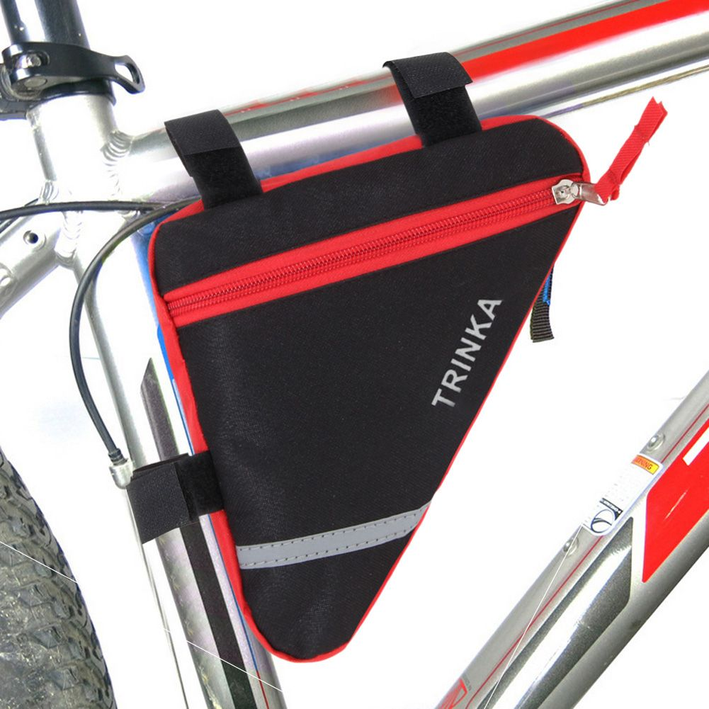 Portable Bicycle triangle bag outdoor Waterproof bike bag Front Tube ...