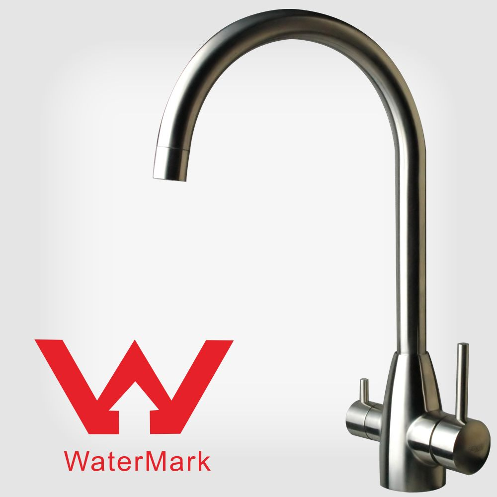 hot and cold water filter faucet. Lead free 304 Stainless Steel Kitchen Faucet Mixer Drinking Filtered Water  Hot Cold Triflow