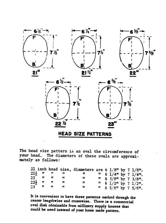 856870904f9 1953 Millinery Book Hat Making Make RETRO Hats Draft Patterns Milliner DIY  Guide