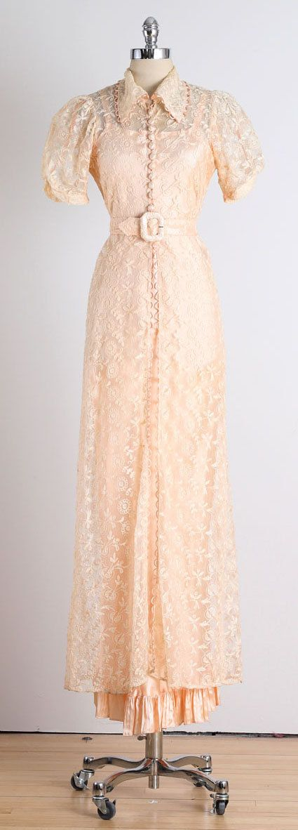 Sweetest Day . vintage 1930s dress . vintage by millstreetvintage