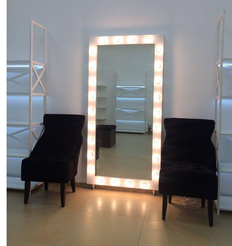 Showroom Mirror Vanity Mirror With Lights Makeup Mirror Hollywood Vanity Mirror Mirror With Lights Mirror For Makeup Artists Mirror With Lights Floor Mirror With Lights Hollywood Vanity Mirror
