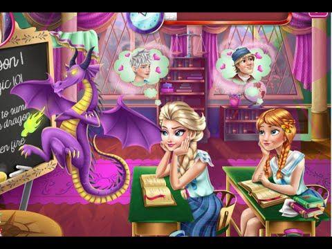 Frozen Highschool Mischief - Funny Frozen Games
