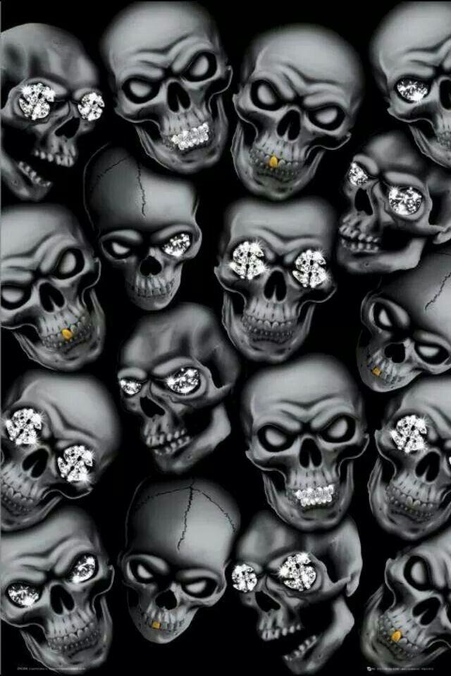 Skull Art Urban Skeletons Wallpaper Sugar Skulls Wallpapers Grim Reaper Pin Boards Dark Side