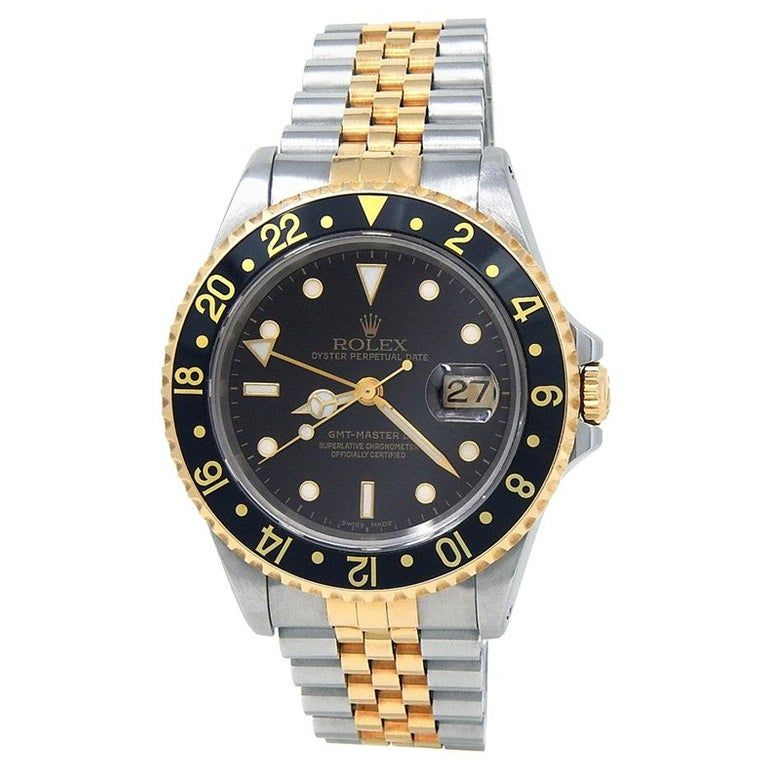 Rolex Gmt Master Ii 16713 Dial Certified Warranty Contemporary