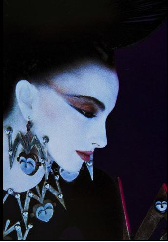 Serge Lutens Perfume art, Fashion photography, Japanese