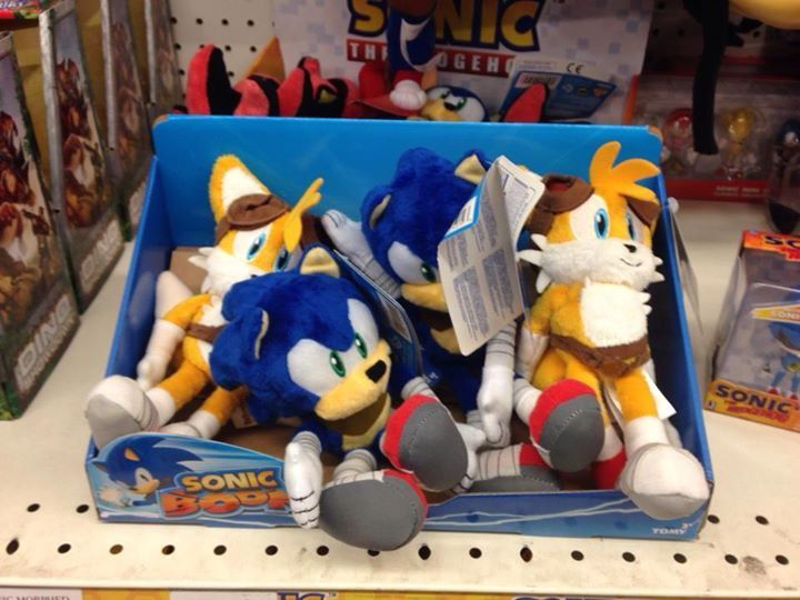First Sonic Boom Toys Spotted In Toys R Us The Sonic Stadium Sonic Boom Sonic Toys R Us
