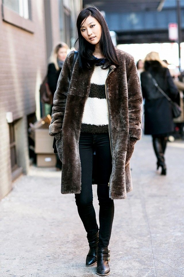 A Model Off-Duty Guide to Wearing Your Fall Coat via @WhoWhatWear