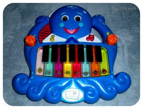 Baby Einstein Learning Sounds Piano Baby Toddler