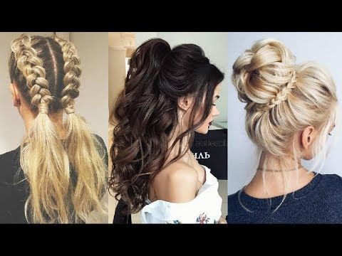 Peinados Faciles Y Bonitos 2018 2019 Cute Hairstyles Compilation
