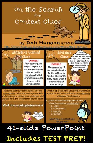 Login Teacherspayteachers Com Context Clues Context Clues Activities Vocabulary In Context