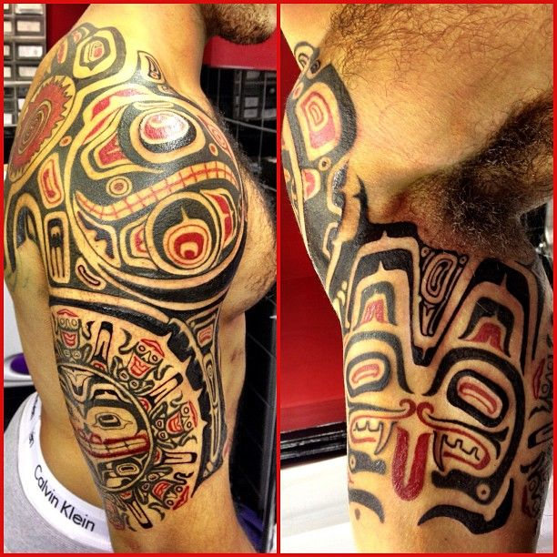 rod medina jonathan haida tattoo haida tattoos pinterest haida tattoo tattoo and native. Black Bedroom Furniture Sets. Home Design Ideas