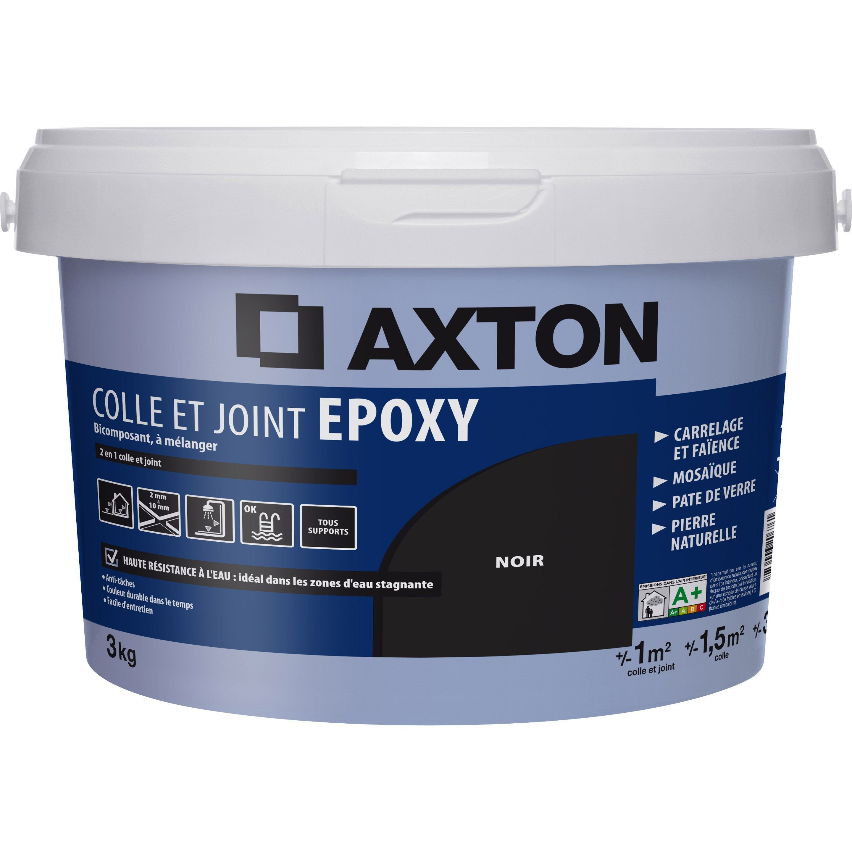 Colle Et Joint Epoxy Axton Mur Et Sol Noir 1m 3kg En 2020