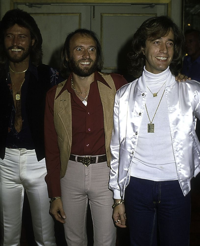The Bee Gees Photo Print Item Varglp358038 Posterazzi Bee Gees 70s Fashion Men Celebrity Pictures
