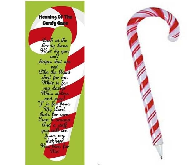 Meaning Of The Candy Cane Bookmark With Pen Each Bookmark Is 6 Quot By 2 Quot In Size Each Bookmark Meaning Of The Candy Cane Candy Cane Candy Cane Legend