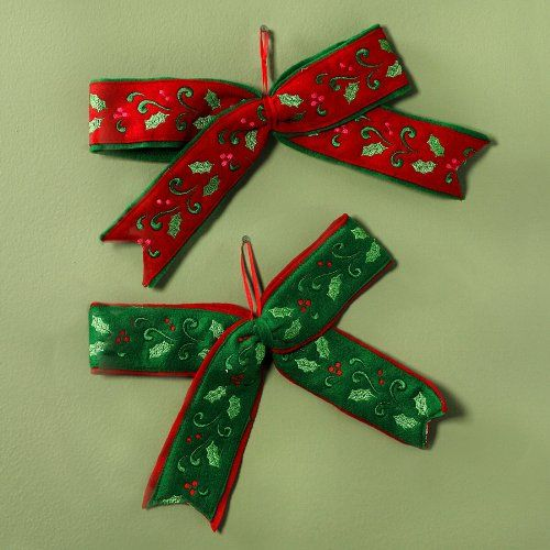 These Richly Colored Bows Are Soft Felt Beautifully