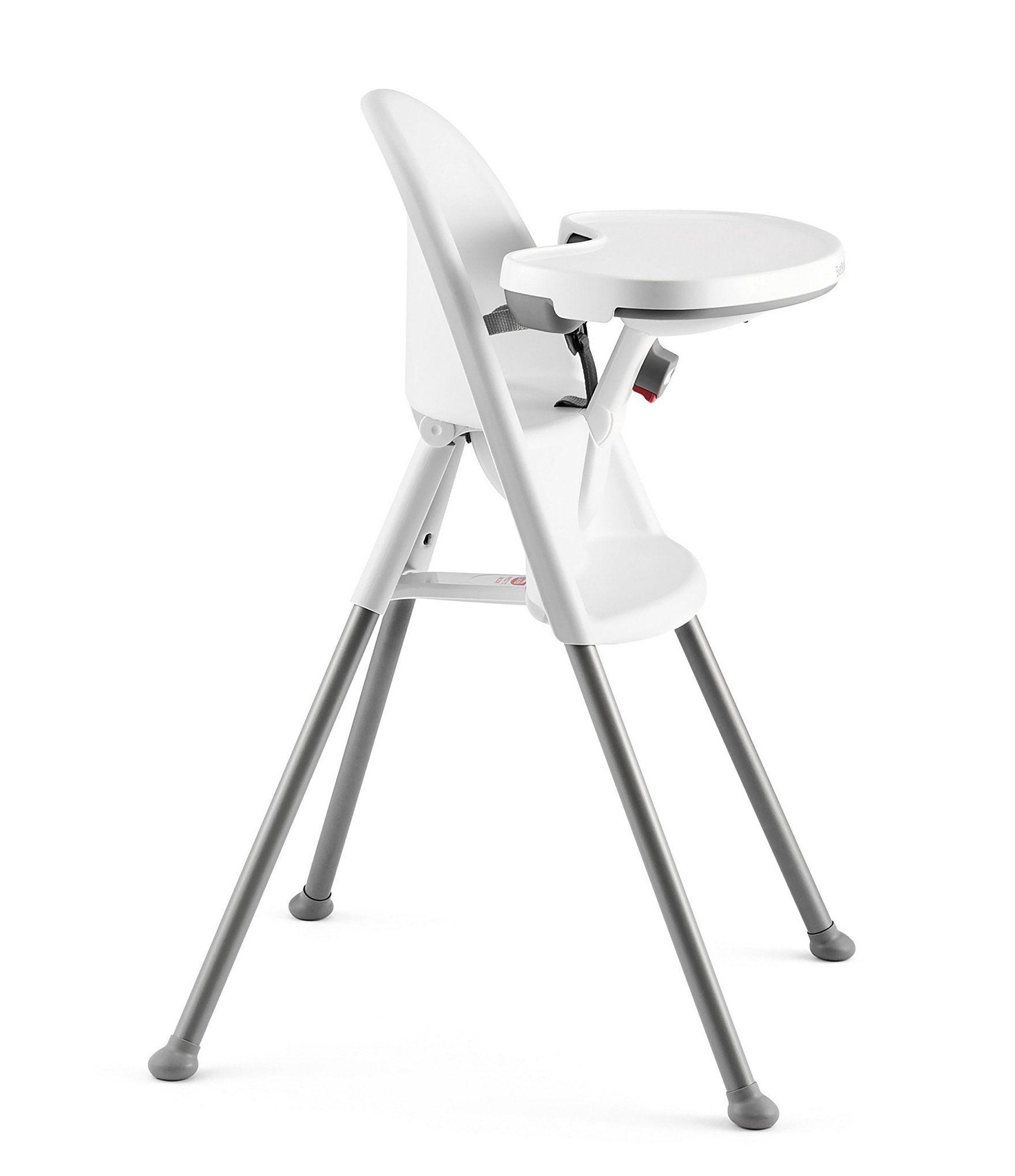 Babybjorn High Chair White Grey N A In 2020 Baby Bjorn Chair