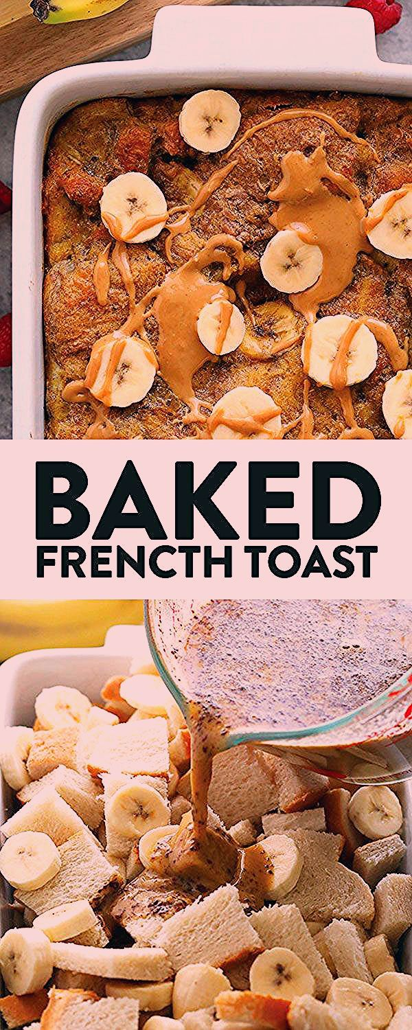 Photo of Are you ready for the most delicious French toast bake recipe?! We combed our tw…
