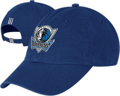 Dallas Mavericks Basic Logo Slouch Adjustable Hat Dallas