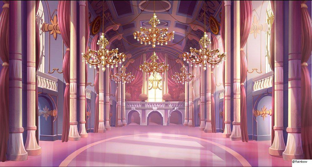 Domino Royal Palace's throneroom Winx Club Pinterest