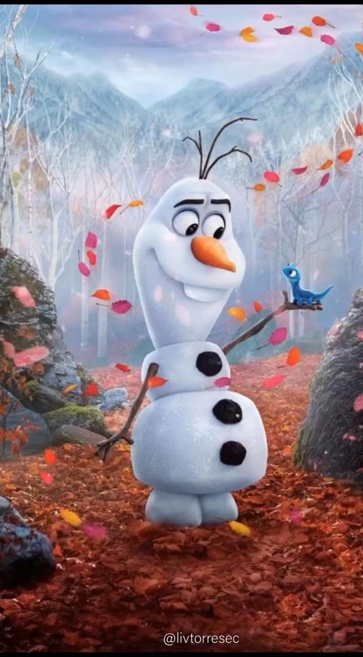 OLAF | FROZEN 2 | WALLPAPER ANIMADO