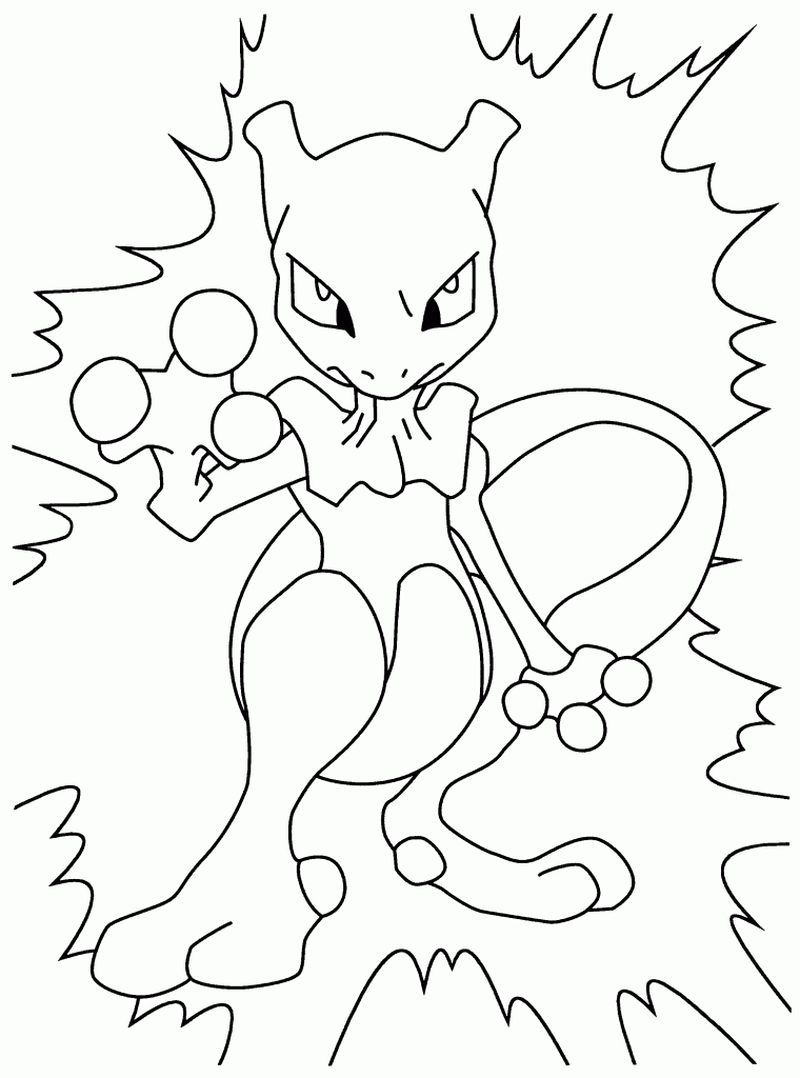 Mewtwo Pokemon Coloring Pages Pokemon Coloring Pages Pokemon Coloring Sheets Pokemon Coloring