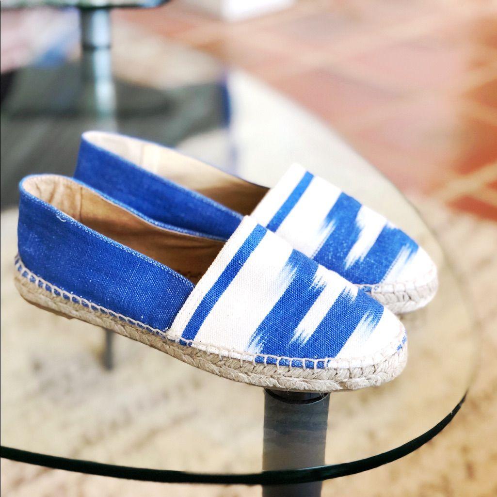OlaSoles Shoes   Royal Blue Espadrilles