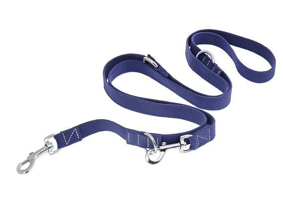 Cotton Dog Leash MultiFunctional 6 Way European Webbing