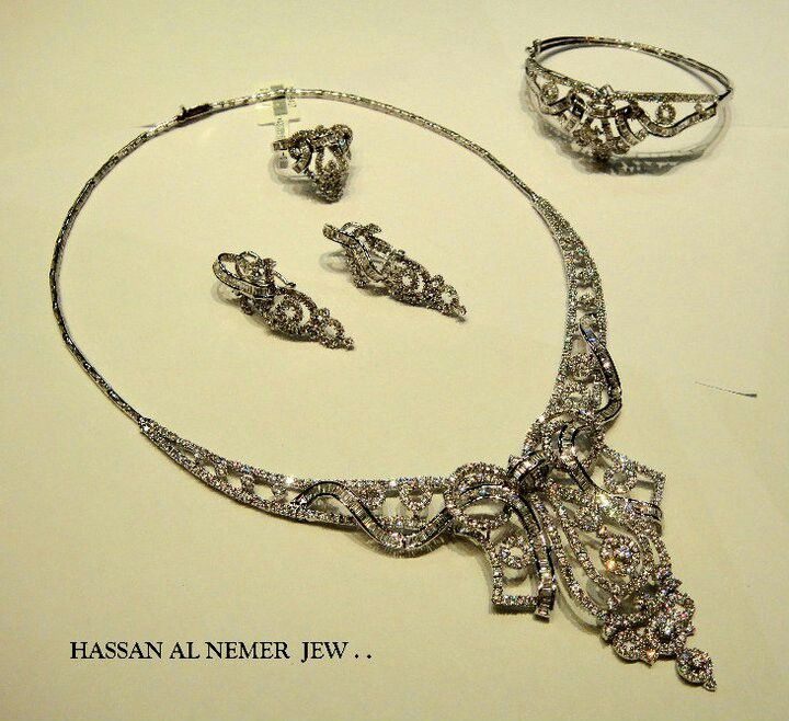 Jewellery designs and collections from Saudi Arabia Big Set