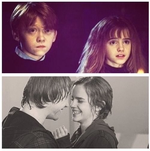 Love granger hermione story and weasley ron Why Did
